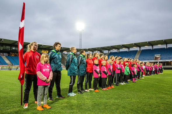 Denmark-Hungary Football women 2020