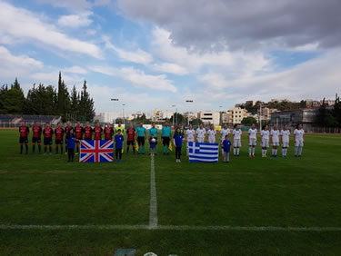 Greece_UK  Football women 2020