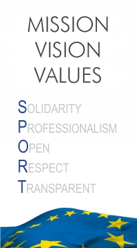 USPE MISSION VISION VALUES